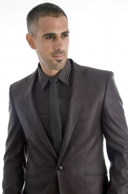 Stylish Mens Clothing - Man in Suit and Tie
