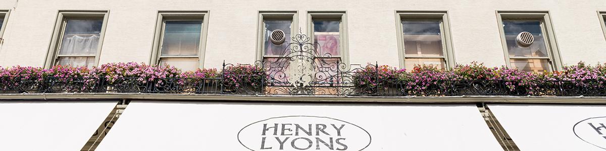 Henry Lyons Front Entrance