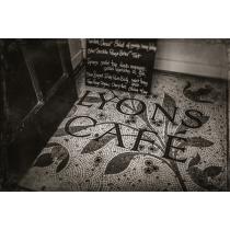 Entrance to café