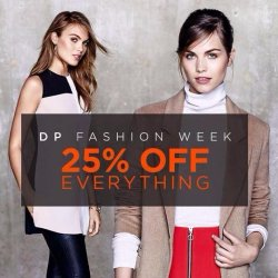 25% OFF Ladies Clothing